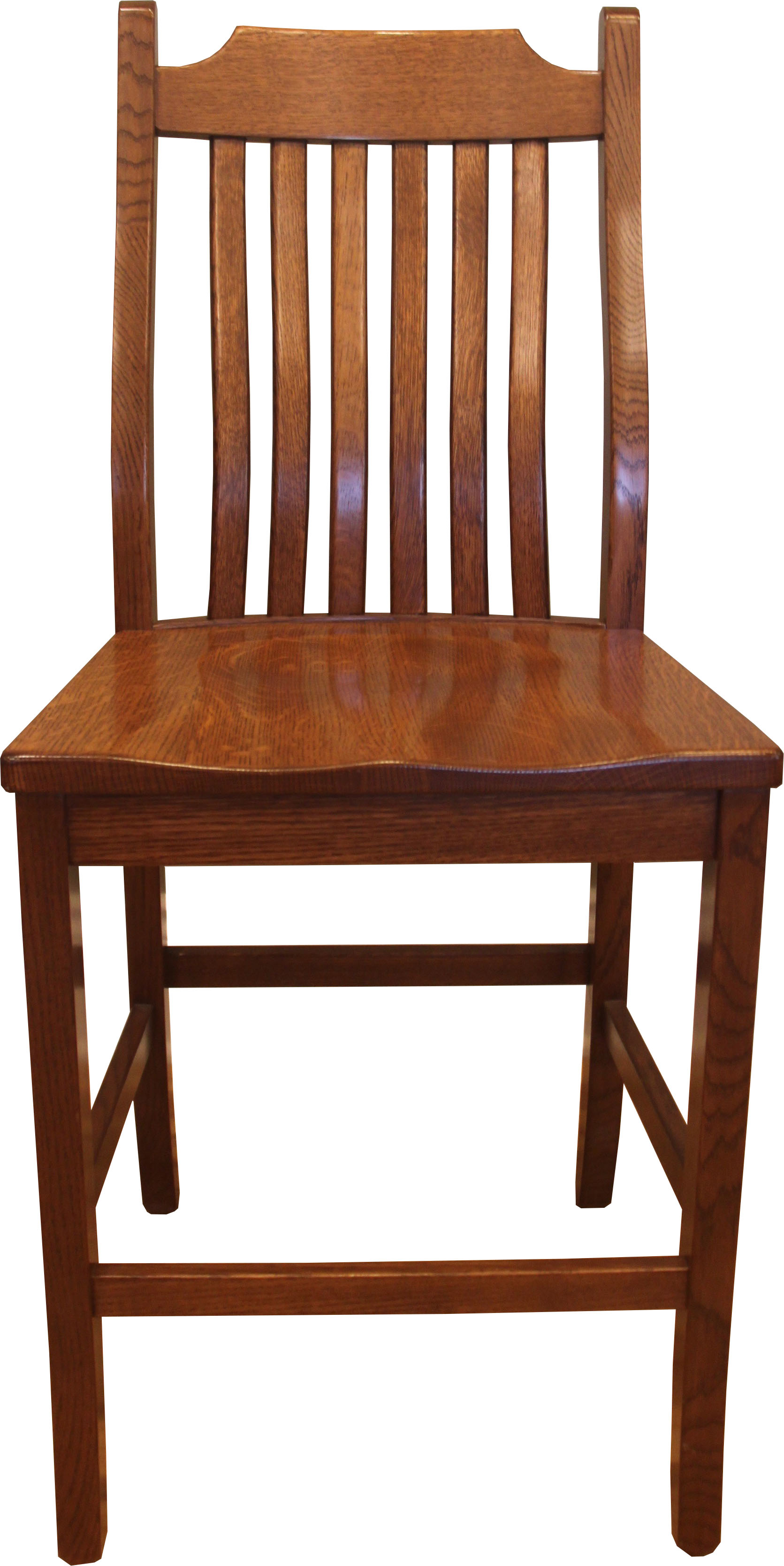 Bent mission bar chair this oak house handcrafted