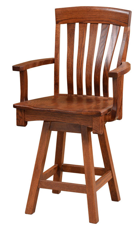 Restaurant Furniture London Ontario : Richland swivel bar chair this oak house handcrafted