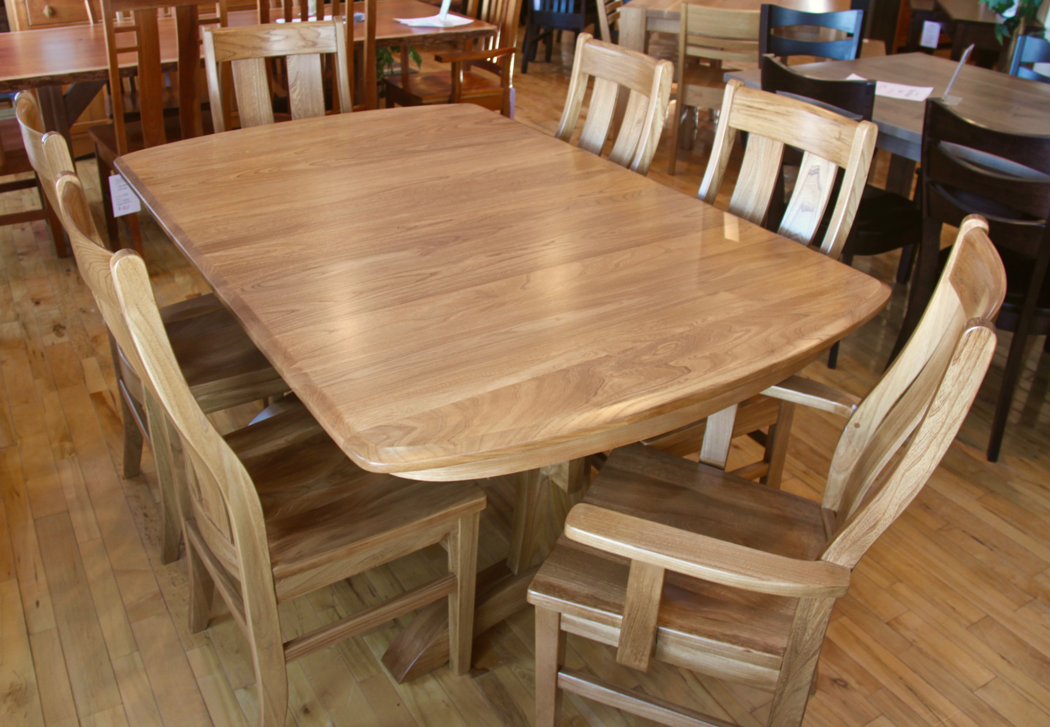 Cedar creek dining set this oak house handcrafted for Coffee tables london ontario