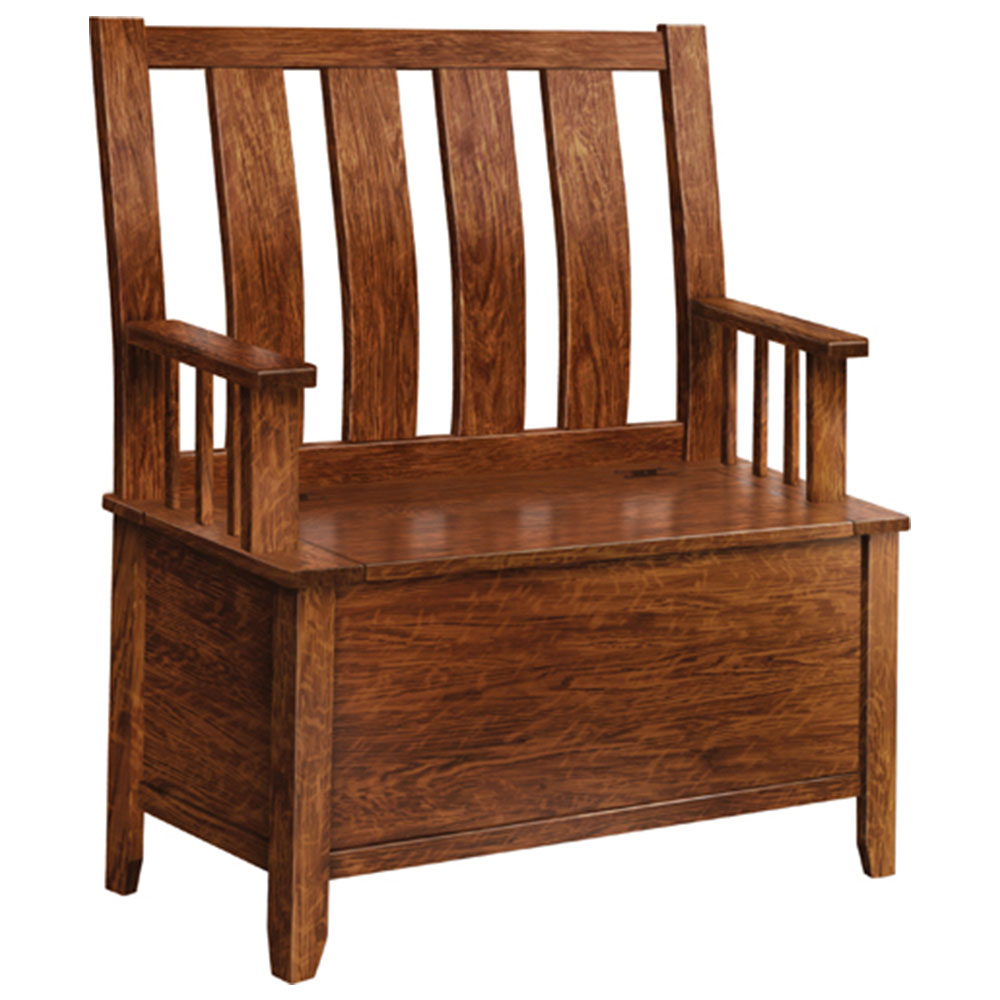 Galveston Bench This Oak House Handcrafted Furniture